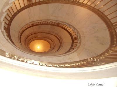 Supreme Court spiral staircase