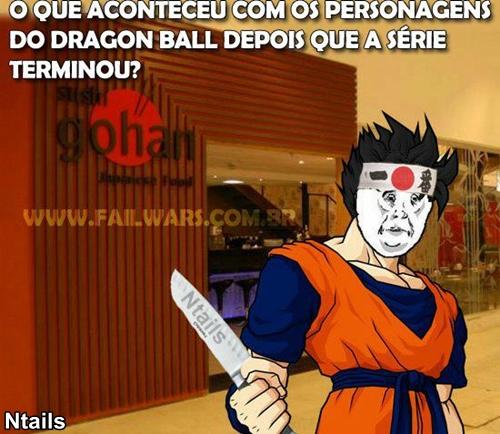 O que aconteceu com gohah depois do fim do Dragon Ball