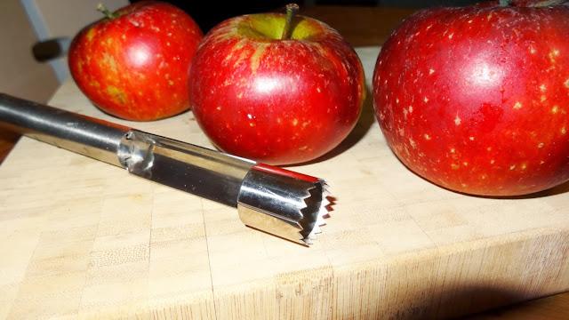Apfelchips aus dem Ofen