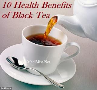 10 Health Benefits of Black Tea
