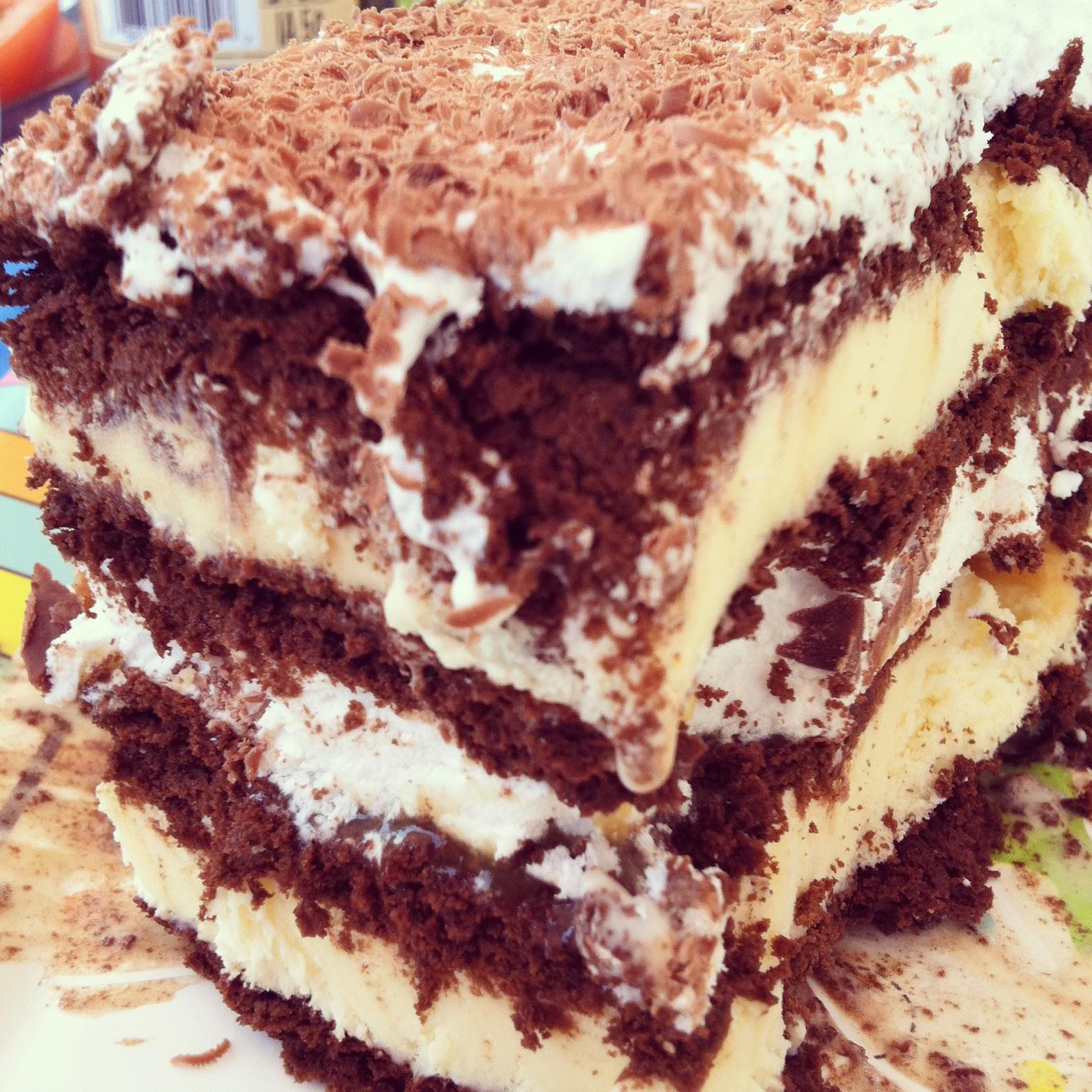 Nourishment Notes: Ice Cream Sandwich Cake Recipe