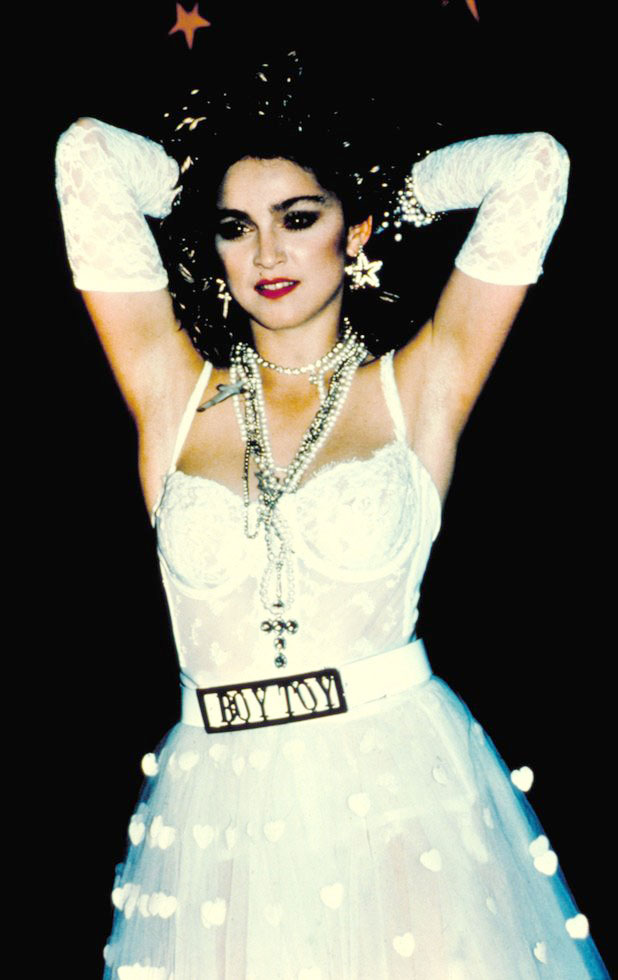 Madonna's Fashion Evolution