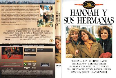 Cover, carátula, dvd: Hannah y sus hermanas | 1986 | Hannah and her Sisters