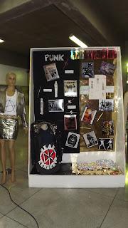 Semana de Moda - Exposição dos Alunos - Punk