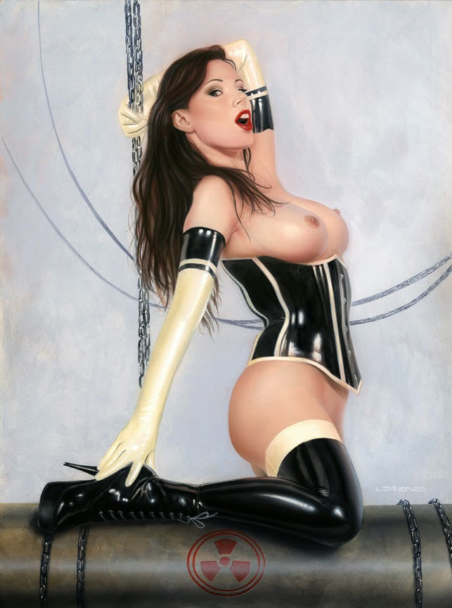 lorenzo sperlonga bdsm fetish art