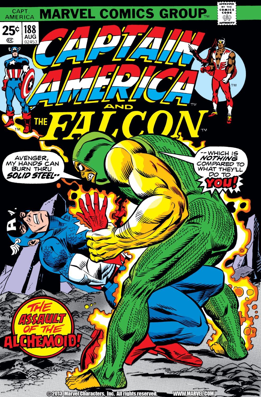Captain America (1968) Issue #188 #102 - English 1
