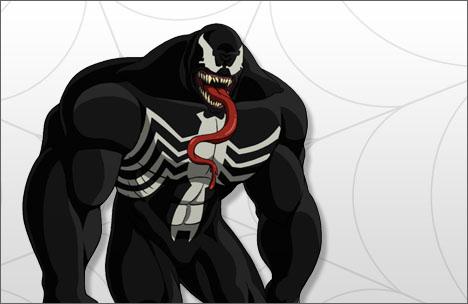 Ultimate spider man tv series venom