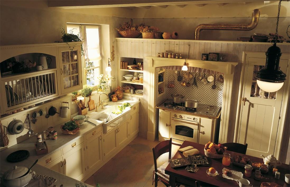 L\'appartamento al piano di sotto...: Cucine country da sogno ...