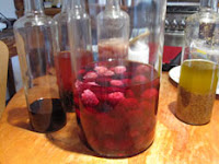 alchemist dreams - blackberries infusing