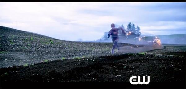 El Flash de CW en movimiento