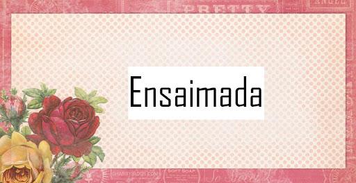 Ensaimada