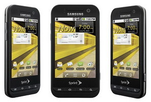 Samsung Conquer 4G WiMAX smartphone for Sprint