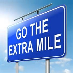 Get Extra mile and life for good and extra happiness