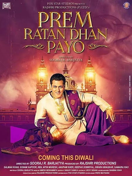 Poster Of Prem Ratan Dhan Payo 2015 1CD DVDScr Hindi New Source