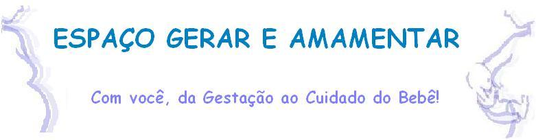ESPAÇO GERAR E AMAMENTAR