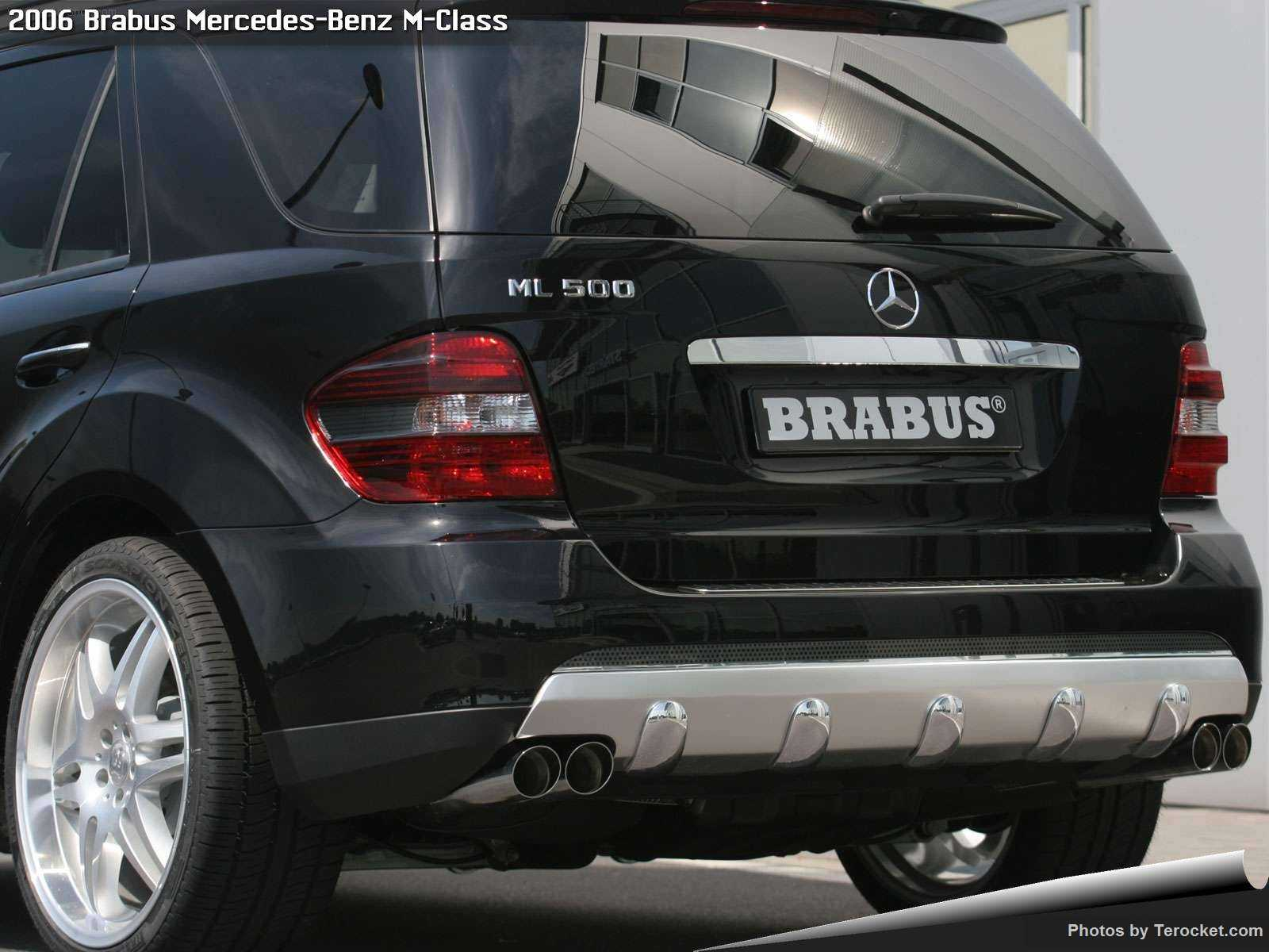 Hình ảnh xe ô tô Brabus Mercedes-Benz M-Class 2006 & nội ngoại thất