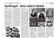 Articol ziar
