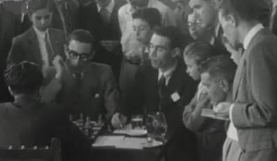 Partida de ajedrez Alonso-Pomar, Campeonato de España de 1946