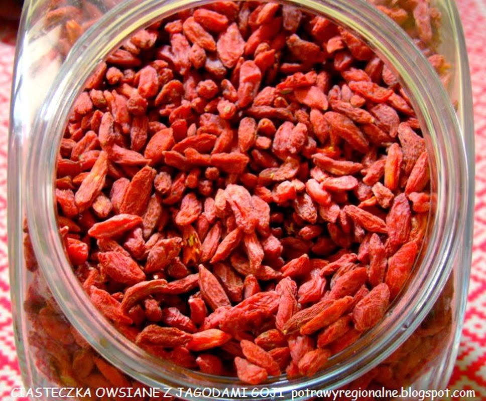 Potrawyregionalne owsiane ciasteczka z jagodami goji for Jagody goji w tabletkach