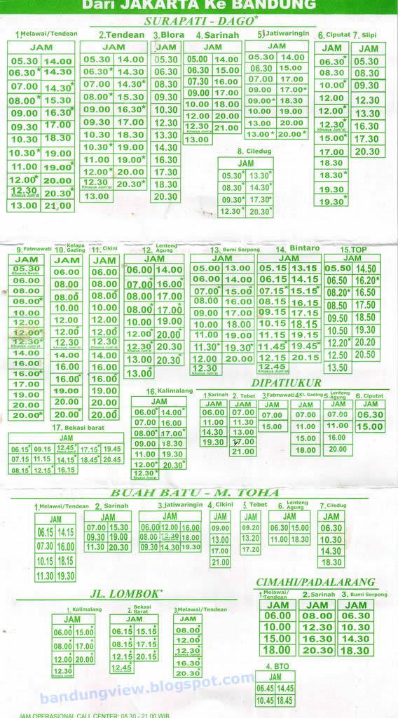 jadwal-baraya-travel-jakarta-bandung