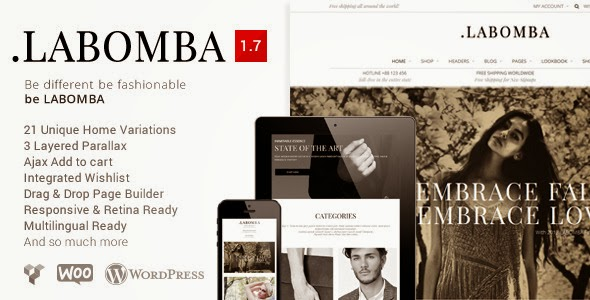 Labomba v1.3 - Responsive Multipurpose Wordpress Theme