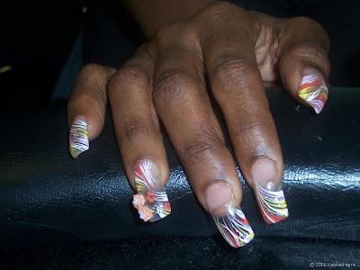 Cool Nails Art Design African
