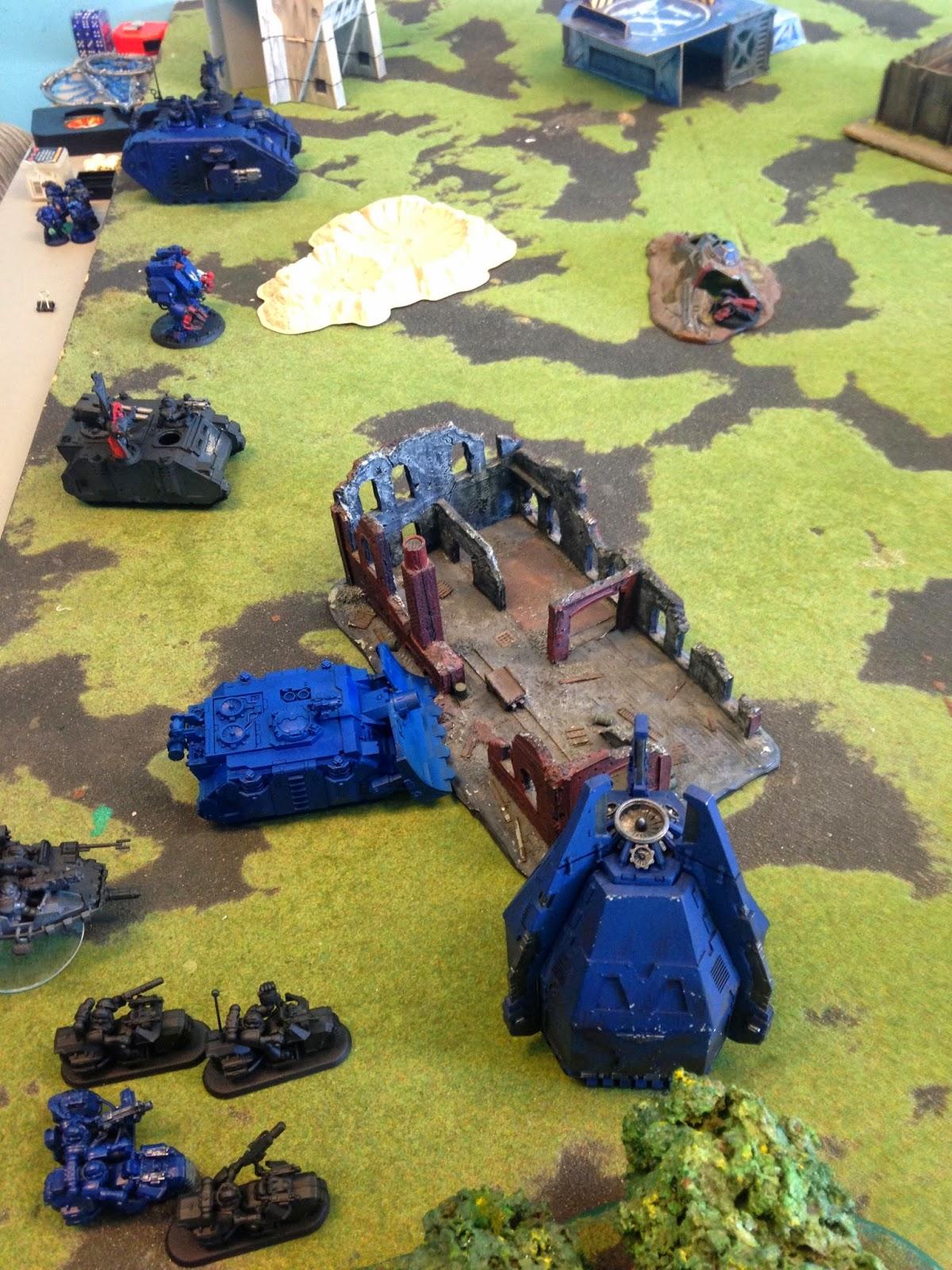 Space Marine Battle, Battle Gaming One, Space Marines vs. Space Marines