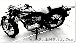 Punjabi Bullet Bike
