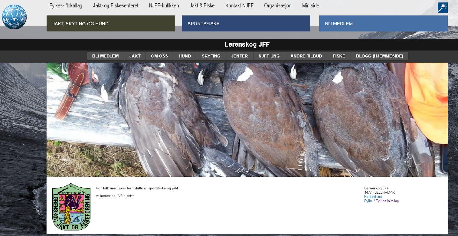 LJFF Aktivitetskalender se ned på siden
