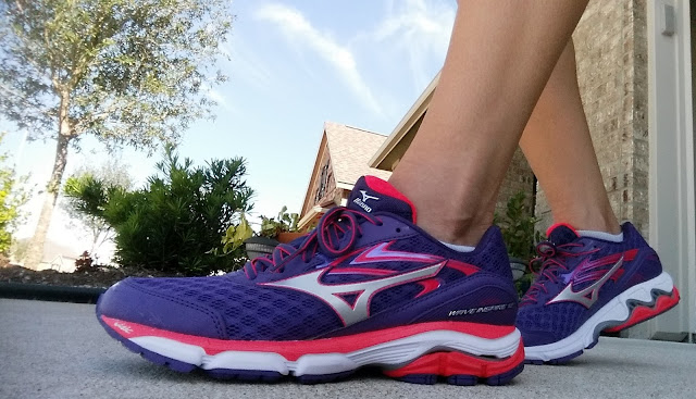The new Mizuno Wave Inspire 12 Running Shoes