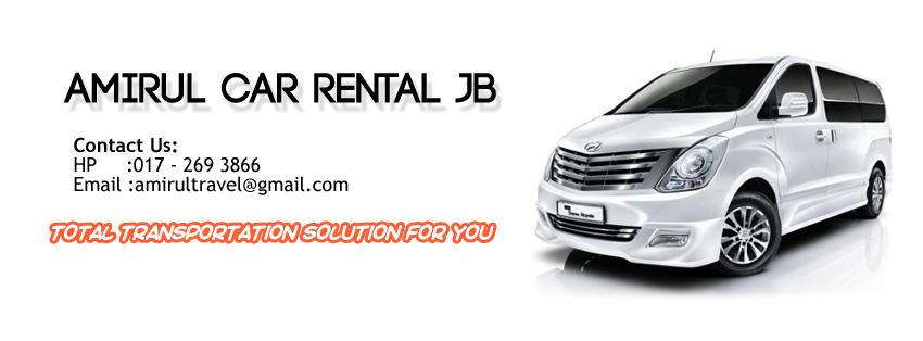.:Amirul Car Rental JB:.