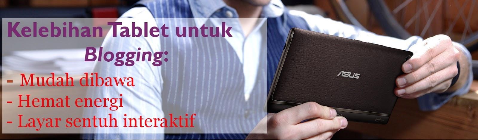 tablet, blogging