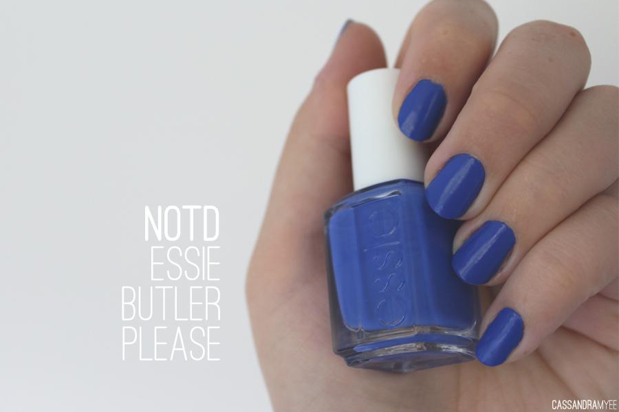 NOTD   Essie Butler Please   CassandraMyee   NZ Beauty Blog