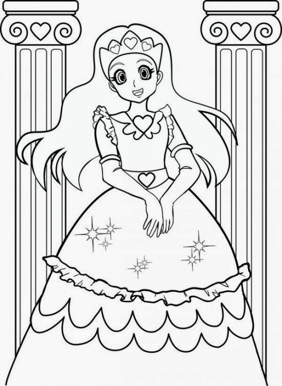 coloring pages girls coloring.filminspector.com