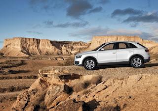Audi Q3 en Bardenas Reales