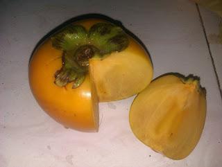 persimmon, pisang kaki