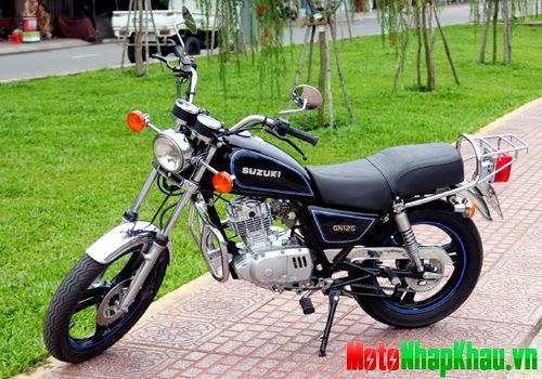 Suzuki GN-125 được những người thợ xe Sài Gòn phục chế.