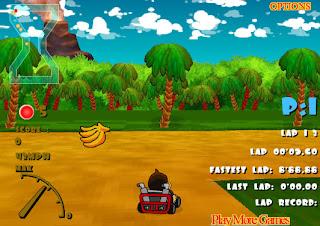 Juego de coches de Donkey Kong al estilo Mario Kart
