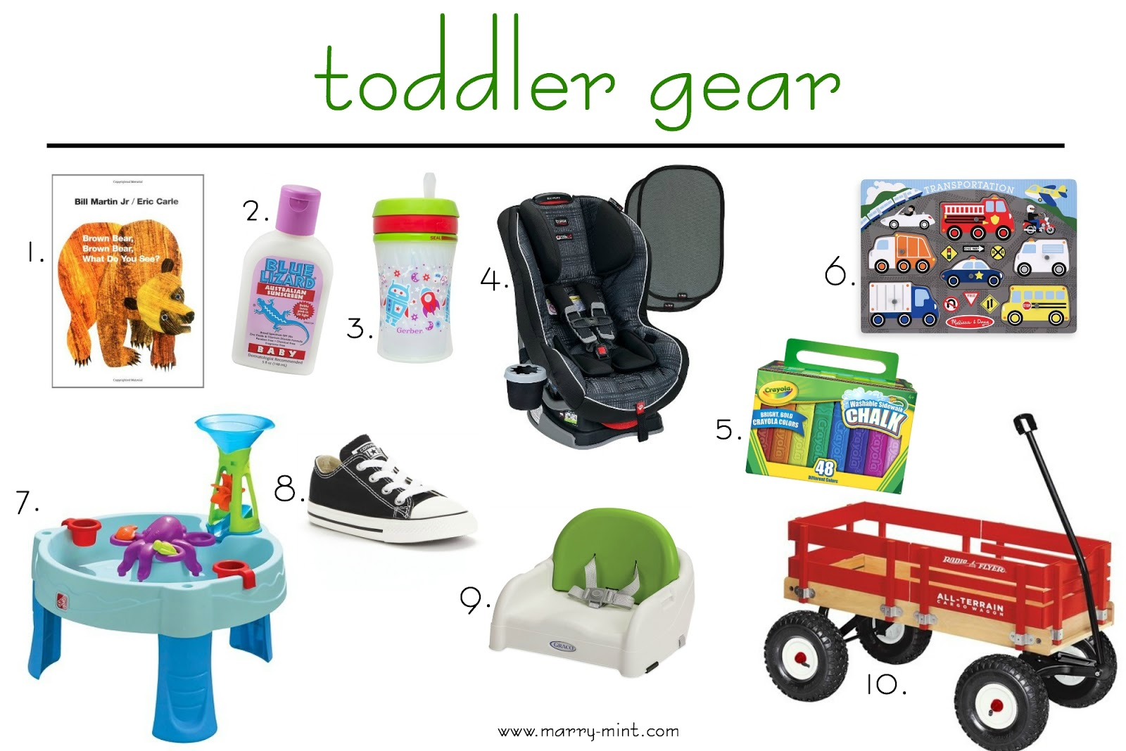 toddler essentials