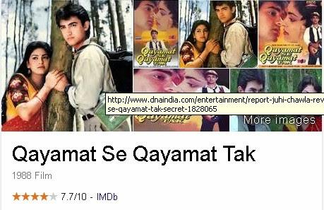 Qayamat Se Qayamat Tak - Film India (Bollywood) Terbaik Dan Terpopuler Sepanjang Masa