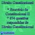 Exercício de Direito Constitucional II e mais 874 questões gerais de constitucional