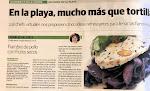 Una de mis recetas en el periódico de Málaga