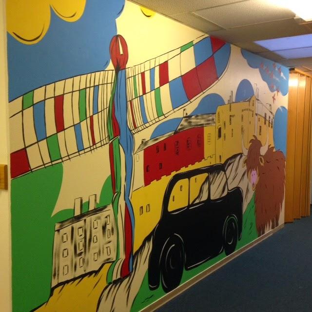 Joanna Perry - Top Mural Artist, Hand Painting Murals across the UK ...