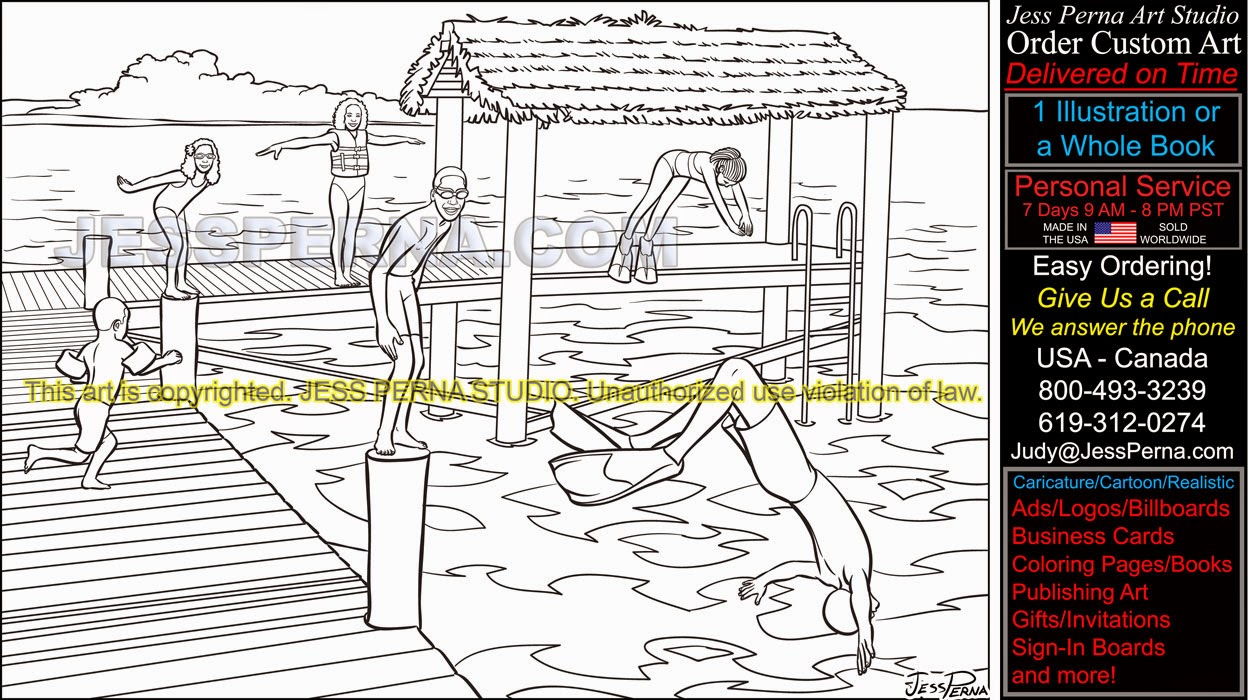 scuba diver coloring pages laura williams