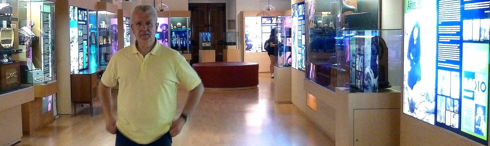 MI VIDEO DEL MUSEO DE LA RADIO 'DEL OLMO'
