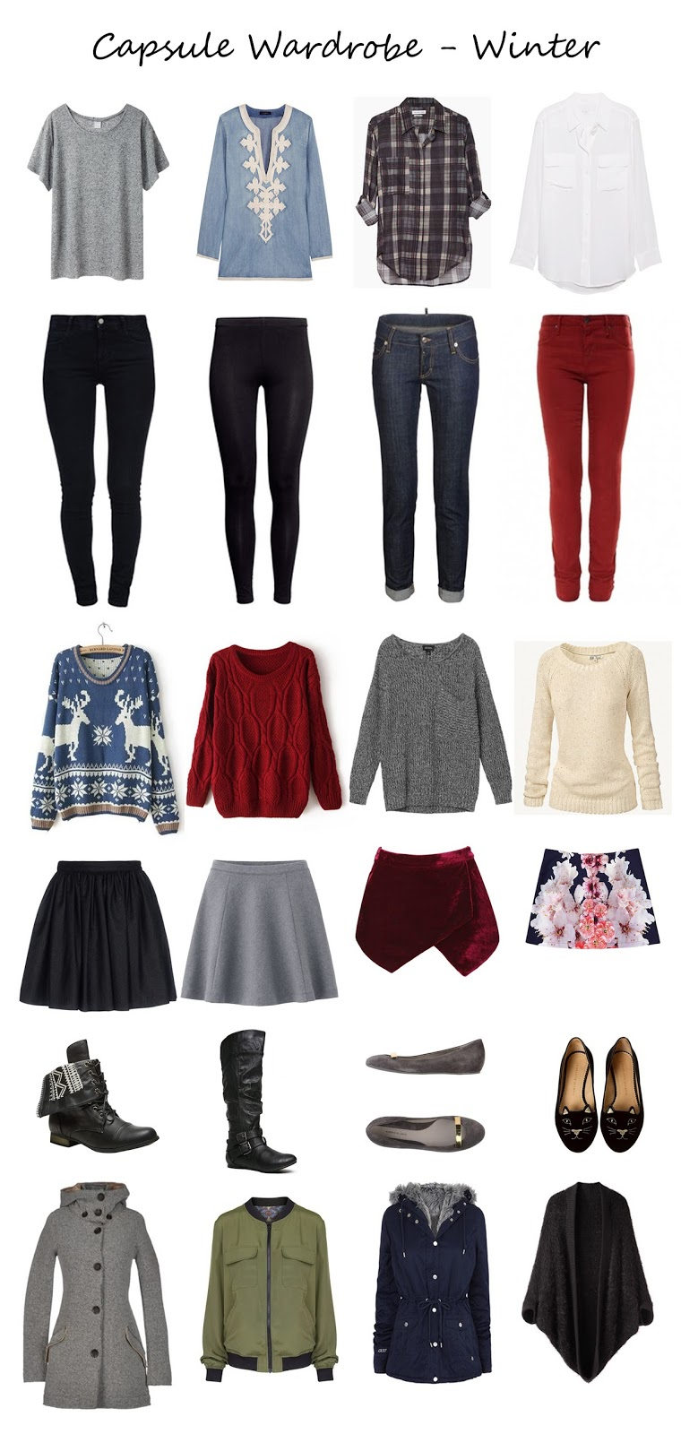 http://www.polyvore.com/capsule_wardrobe_winter/collection?id=3722613