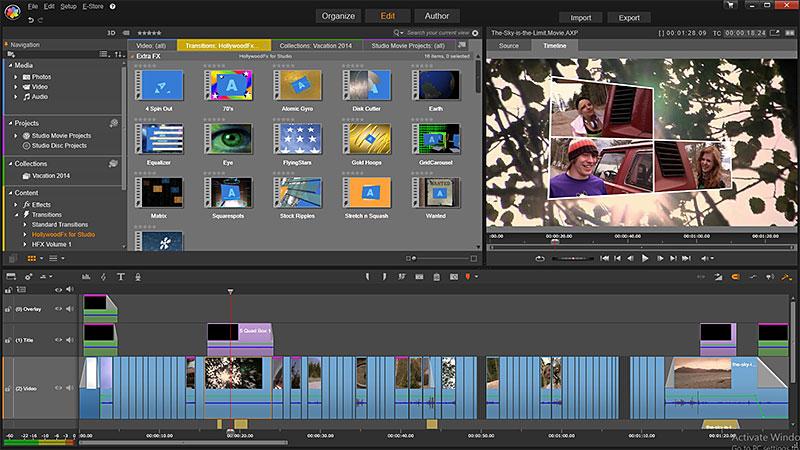 برنامج مونتاج الفيديو Pinnacle Studio 16 - لا يحتاج خبرة لاستخدامة Pinnacle-Studio-16b