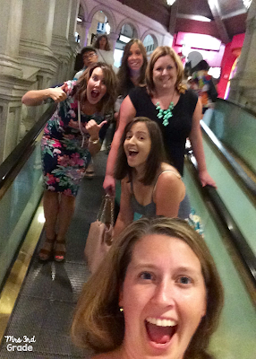 Night out on the town during #tptvegas15