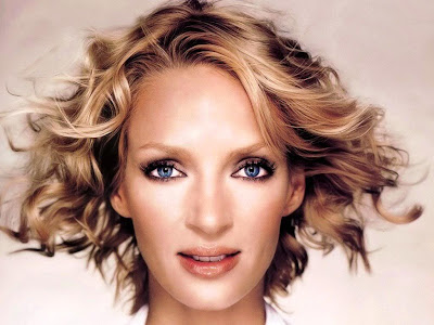 Famous Red Haired Actresses. Uma Thurman has blond hair,