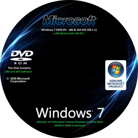 84950462 Download Windows Seven OEM X86 &amp; X64   48 em 1 Ativado